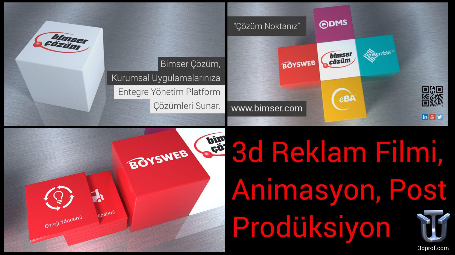 3d reklam filmi, animasyon, post prodüksiyon